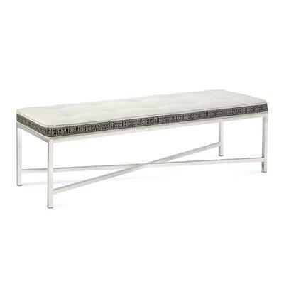 Braxton Culler Upholstered Bench Upholstery White Textured Plain;