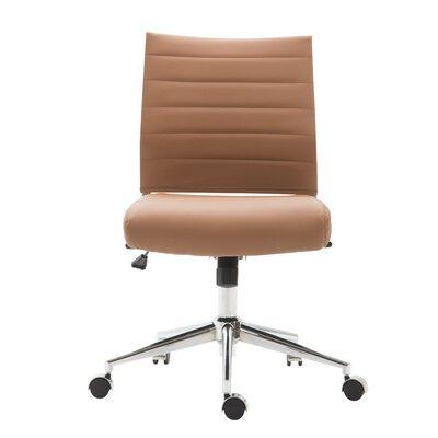 Orren Ellis Task Chair Terracotta