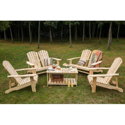 Loon Peak Solid Wood Adirondack Chair Table