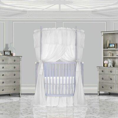 Dream On Me Posh Mini Crib Lavender Ice