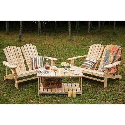 Loon Peak Double Adirondack Chair