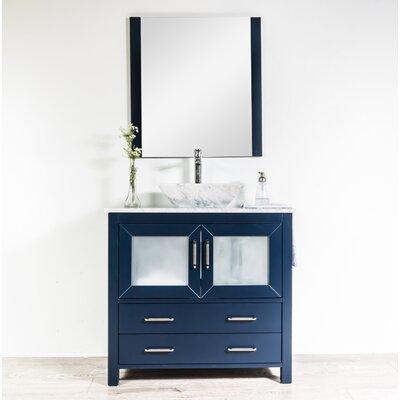 Wrought Studio Single Bathroom Vanity Set Mirror