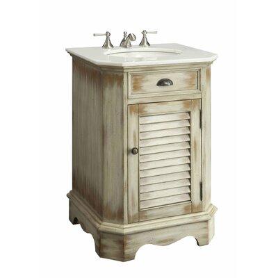 Highland Dunes Single Bathroom Vanity Set Base Beige