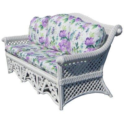 August Grove Floral Garden Sofa