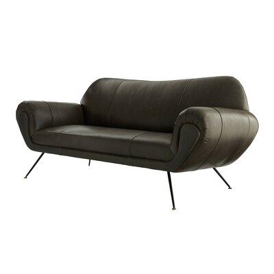 Arteriors Leather Sofa Arteriors