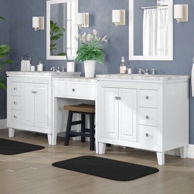 Alcott Hill Transitional Double Bathroom Vanity Set