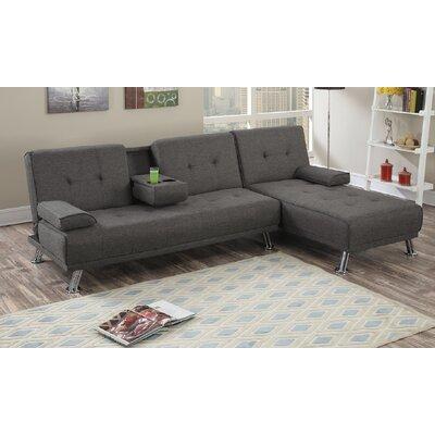 Wrought Studio Sectional Upholstery Slate