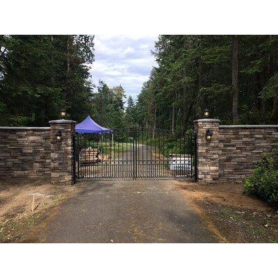 Aleko Dual Swing Driveway Gate