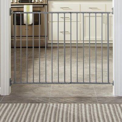 Easy Walk-Thru Metal Safety Gate Color: Gray 01740-02G