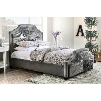 Bungalow Rose Arikara Upholstered Panel Bed