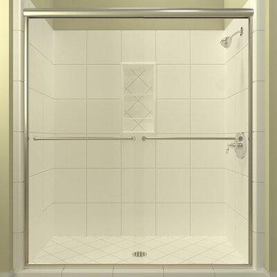 Arizona Leser Semi Frameless Shower Door