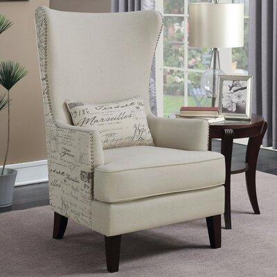 Ophelia Waldschmidt Wingback Chair