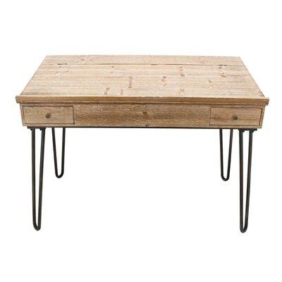 Gracie Oaks Wooden Storage Desk