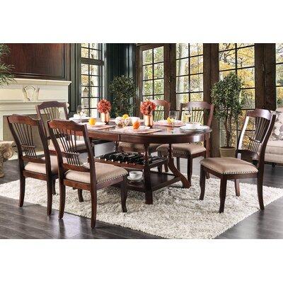 Charlton Home Extendable Dining Set