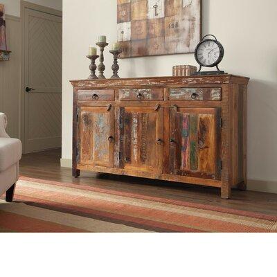 Loon Peak Whitehall Well Made Wooden Door Accent Cabinet