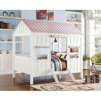 Harriet Bee Siena Wooden Full Canopy Bed