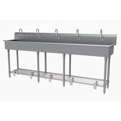 Advance Tabco Valve Freestanding Handwash Station Faucet Stainless Steel Gauge