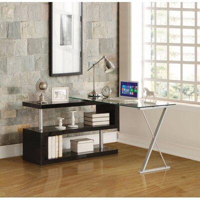 Latitude Run Writing Desk Color Frame Black