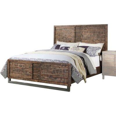 Gracie Oaks Peckforton Wooden Queen Platform Bed