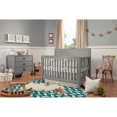 Davinci Convertible Crib Set Rustic Gray