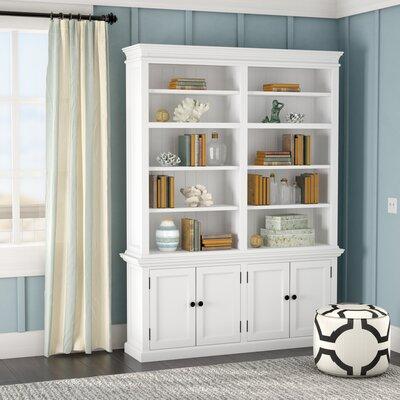 Beachcrest Home Library Bookcase