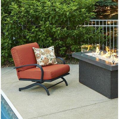 The Outdoor Great Room Rocking Chair Cushions Papaya