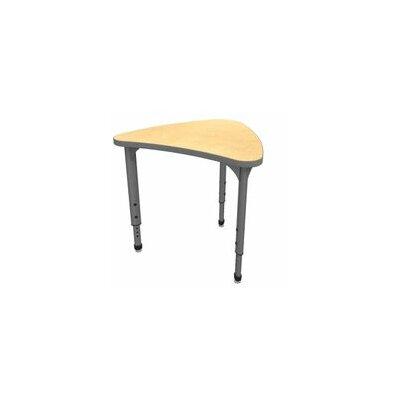 Classroom Desk Chair Set Wood Adjustable Height Chevron