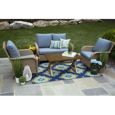 One Allium Way Bogdanovic Sofa Set Cushions