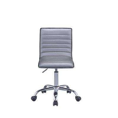 Orren Ellis Task Chair Silver Chrome