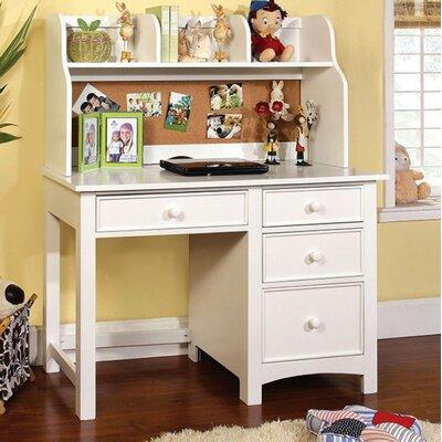 Canora Grey Writing Desk Hutch White