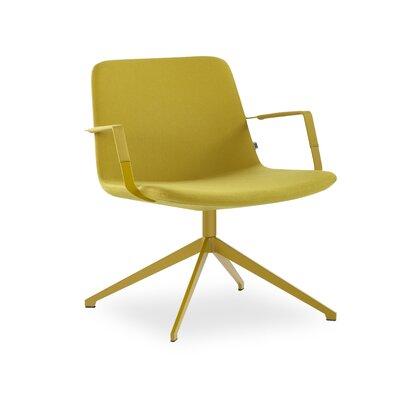 Ivy Bronx Swivel Lounge Chair Seat Mustard Mustard