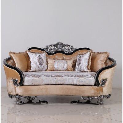 Astoria Grand Standard Loveseat Silver