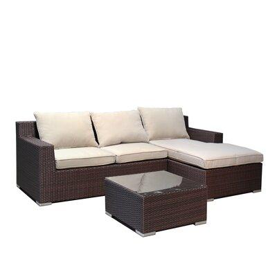 Ebern Designs Hegg Sofa Set Cushions