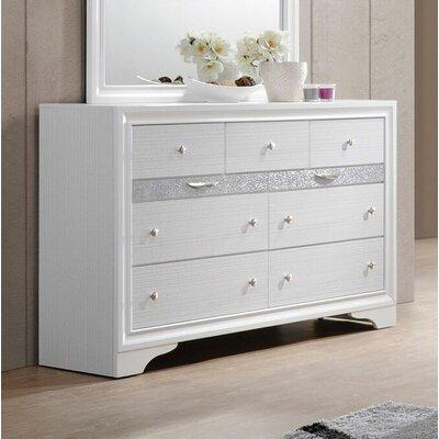 Ivy Bronx Drawer Dresser White