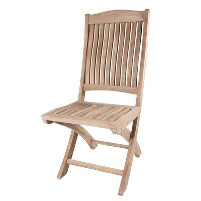 Arbora Teak Teak Batavia Folding Patio Dining Chair