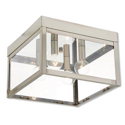 Mercury Row Light Outdoor Flush Mount Metal Lighting