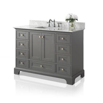 Birch Lane Heritage Single Bathroom Vanity Set Base Sapphire Grey