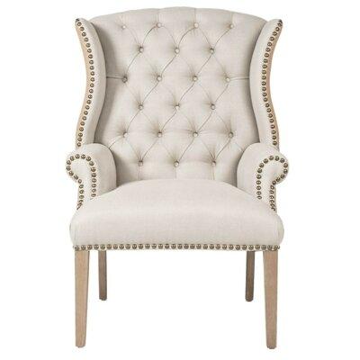 One Allium Way Wingback Chair