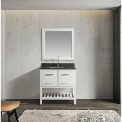 Ebern Designs Creek Single Bathroom Vanity Set Mirror