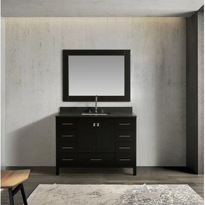 Ebern Designs Single Bathroom Vanity Set Mirror