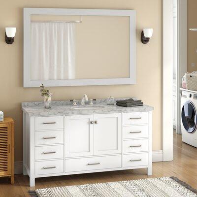 Andover Mills Single Bathroom Vanity Set Base Midnight Blue