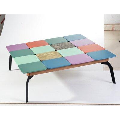 Harriet Bee Belles Art Color Coffee Table