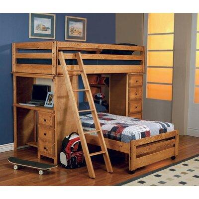 Harriet Bee Waite Twin Over Twin Bunk Bed