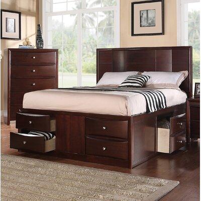 Ebern Designs Storage Platform Bed Queen