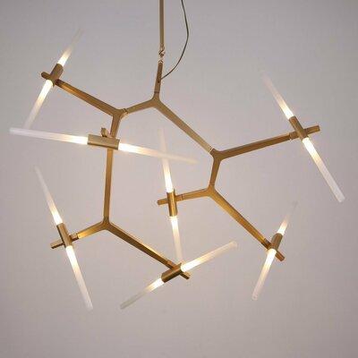 Wrought Studio Bright Light Sputnik Chandelier
