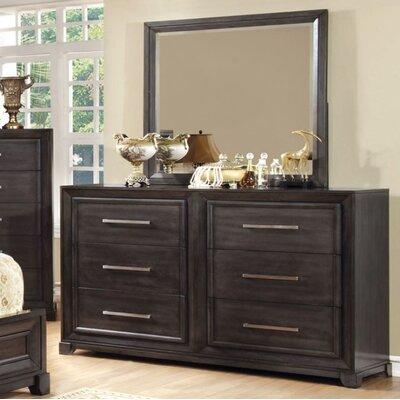 Red Barrel Studio Drawer Double Dresser Mirror
