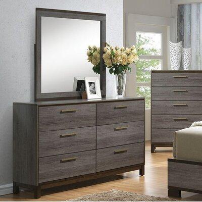 Wrought Studio Drawer Double Dresser Mirror