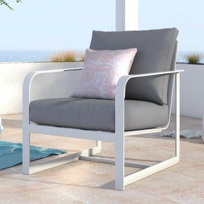 Elle Decor Arm Patio Chair Cushion French White