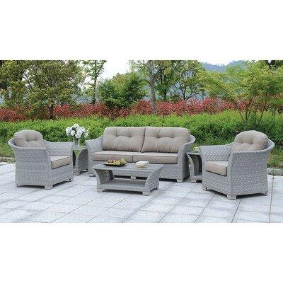 August Grove Isabeau Sofa Seating Group Cushions