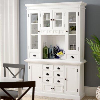 Beachcrest Home Kitchen China Cabinet